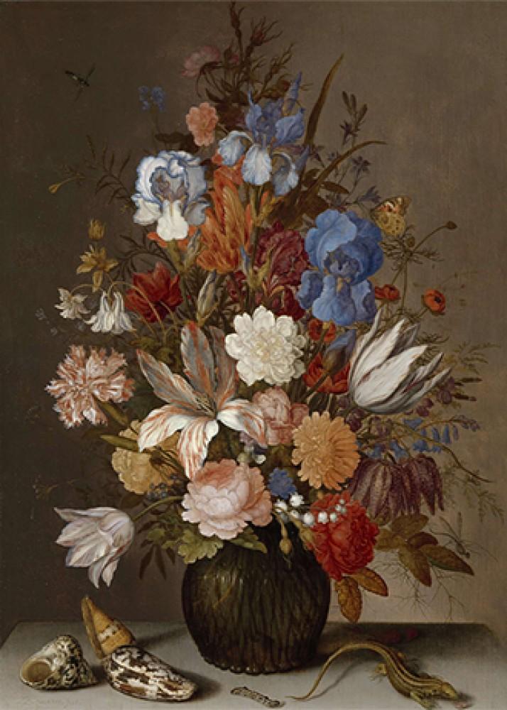 Martwa natura z kwiatami Balthasar van der Ast