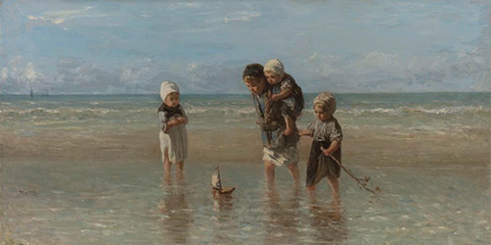 Dzieci morza Jozef Israëls