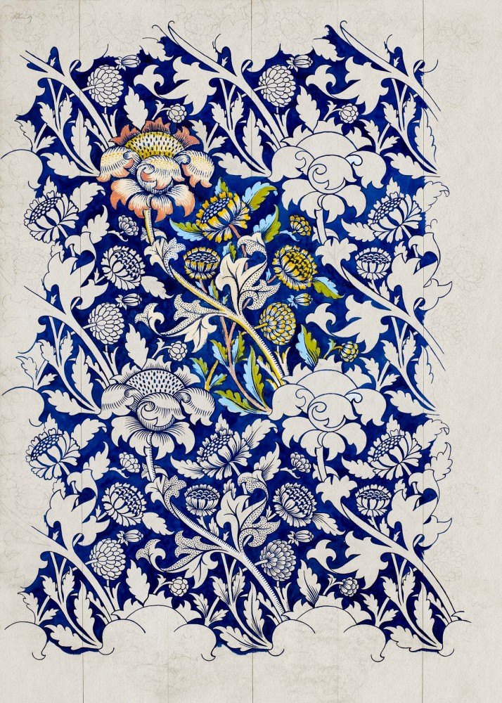 Obraz na płótnie Akwarela Wey Williama Morrisa