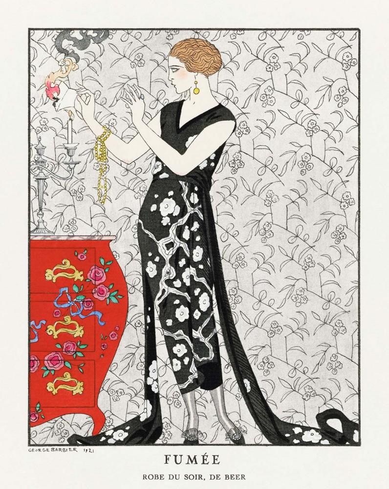 Plakat Suknia wieczorowa