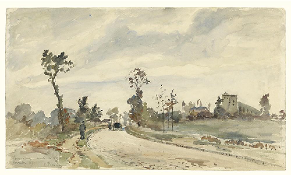 Louveciennes Camille Pissarro