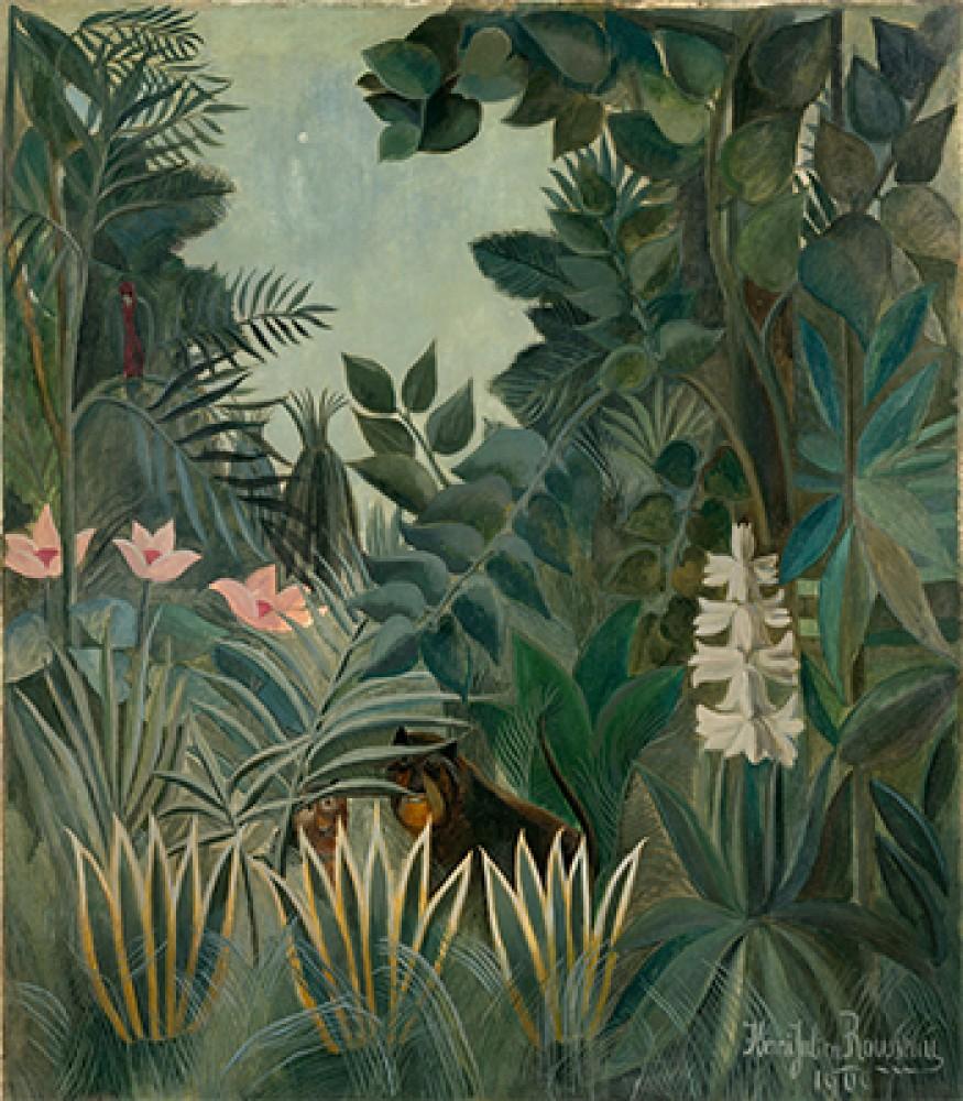 Dżungla równikowa Henri Rousseau