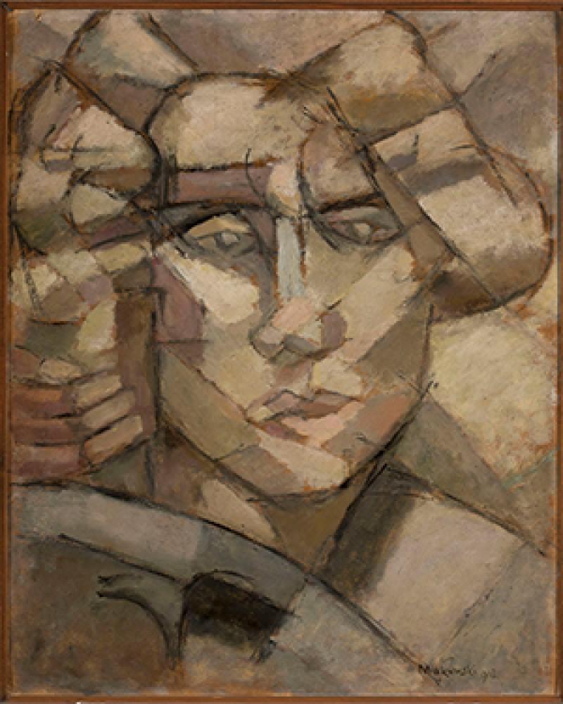 Głowa Tadeusz Makowski