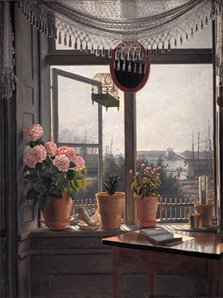 Widok z Pokoju Artysty Martinus Rørbye
