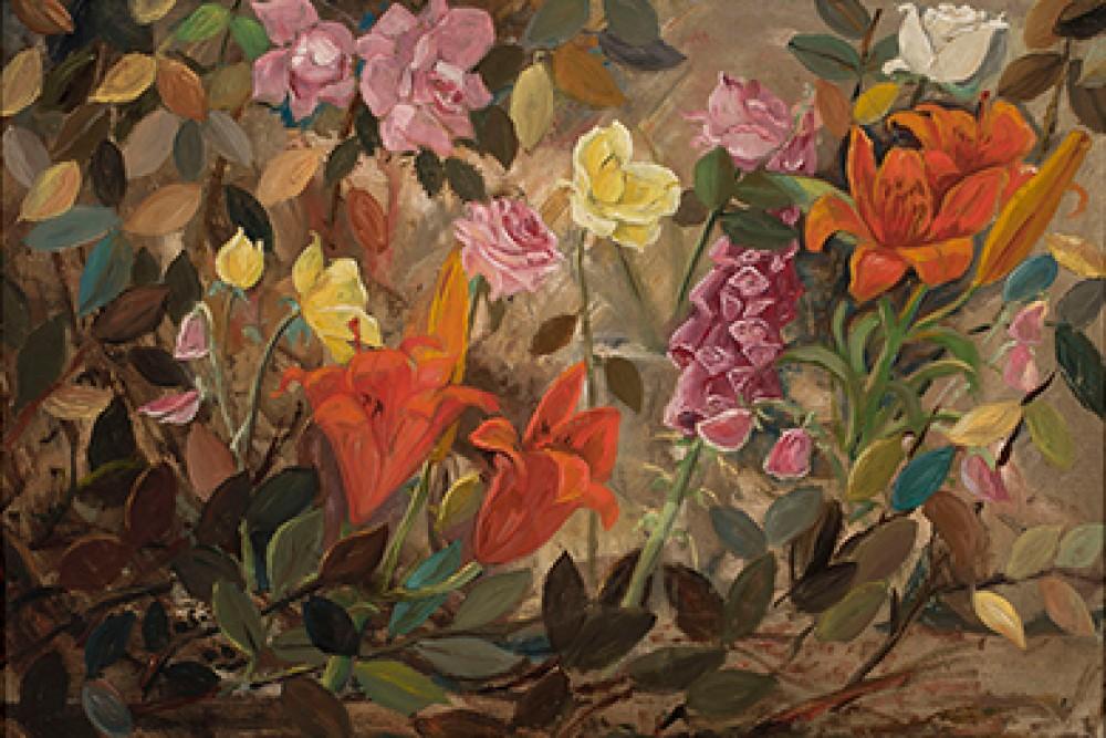 Kwiaty w ogrodzie Makowski Tadeusz