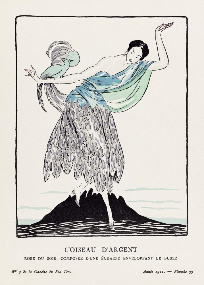 Plakat Srebrny ptak