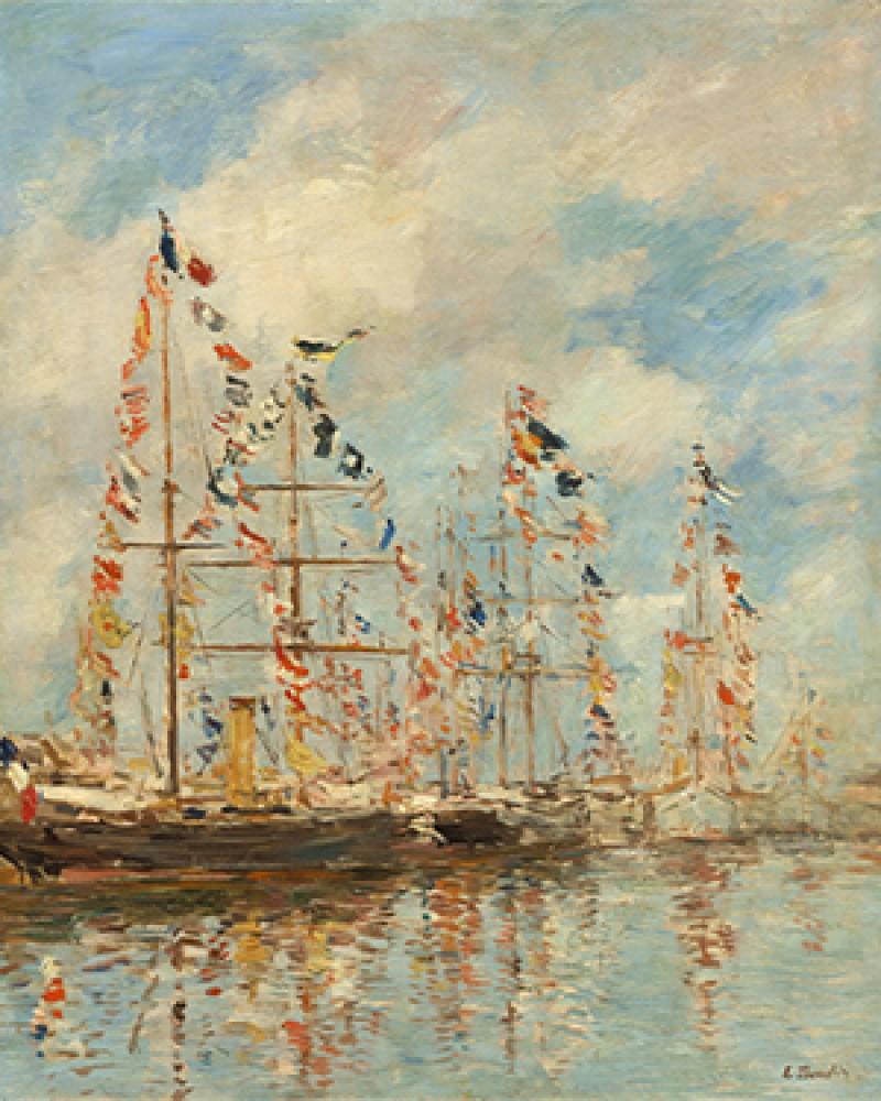 Basen jachtowy w Trouville Deauville Boudin