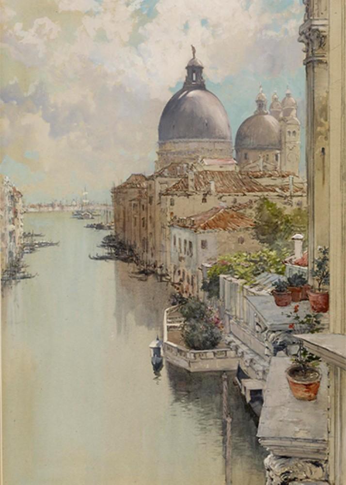Widok na Canal Grande, Wenecja Francis Hopkinson Smith