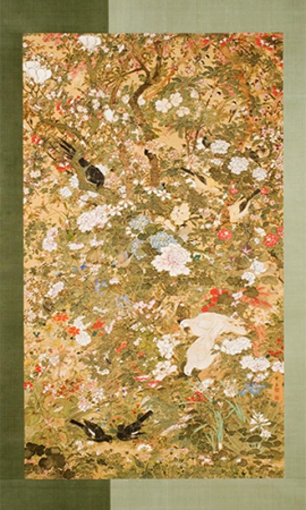 Niezliczone ptaki, owady i kwiaty Ueno Setsugaku